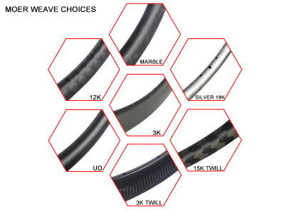 BTLOS offers more choice when ordering custom carbon rims