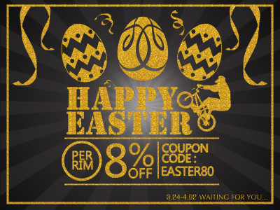 Happy Easter Weekend! Have An Easter Discount On Us