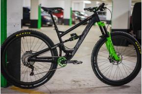 29er mountain bike 36mm wide hookless carbon wheels