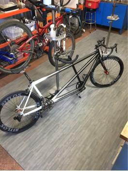 BTLOS carbon wheels for Tandem bicycle