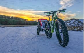 lightest 26er fat bike 105mm wide single wall carbon rims
