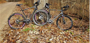 His and Her's Jamis Renegade Elite's with WGX 40's gravel set-up