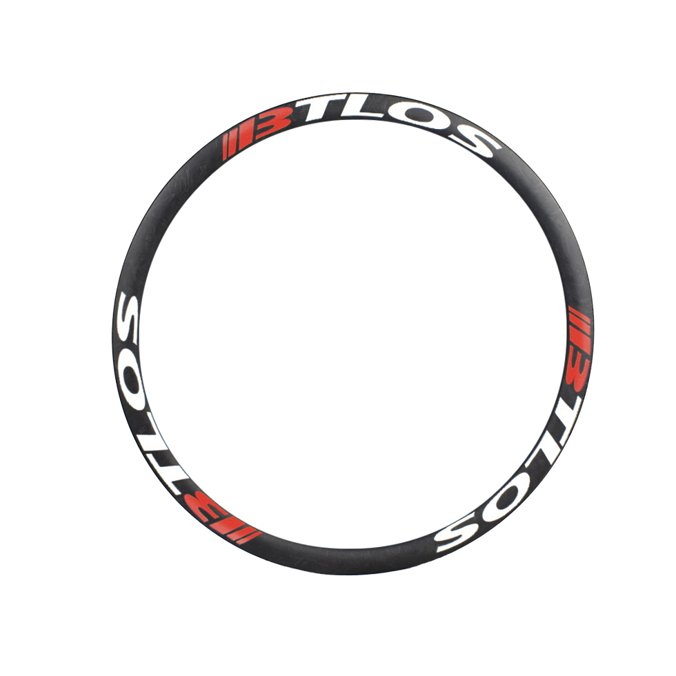 Downhill enduro asymmetric premium carbon 26 inches 36mm wide tubeless compatible