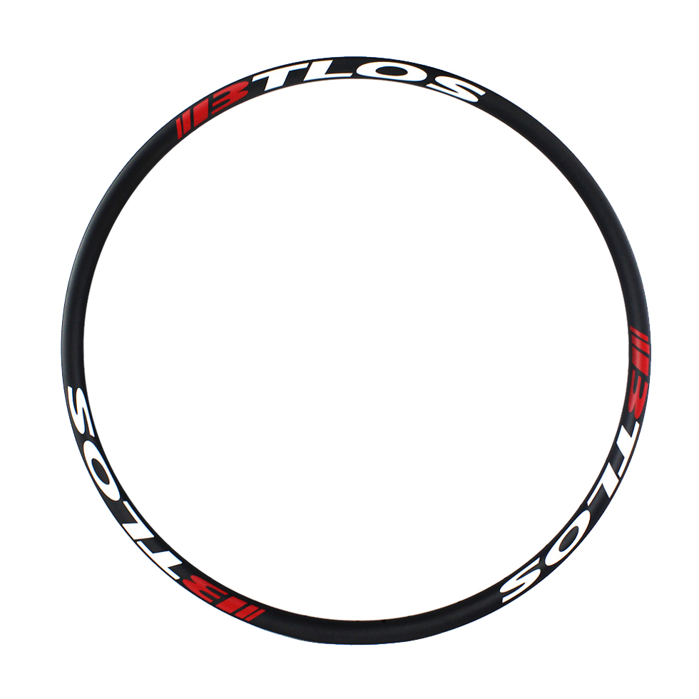 Ultralight 29er 27mm width mtb carbon rims for cross-country trail XC racing