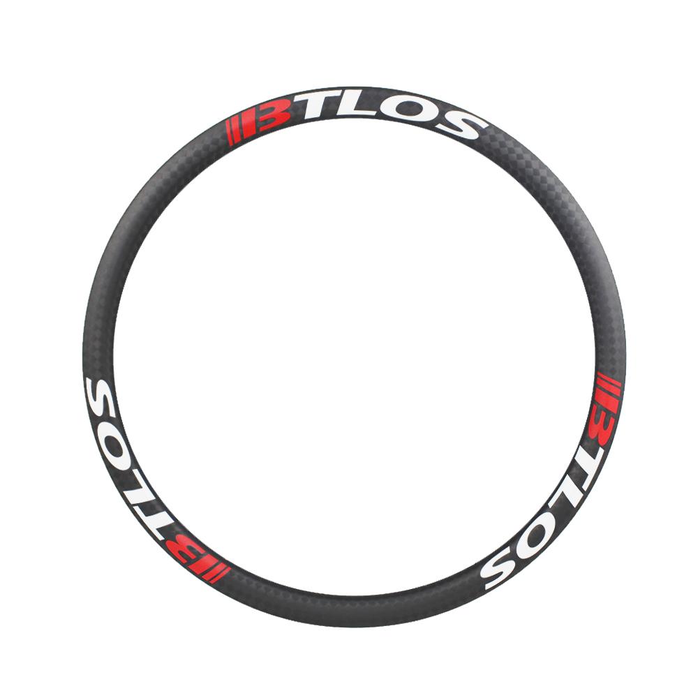 lightweight 650B 32mm wide carbon fiber mountain bike tubeless rims