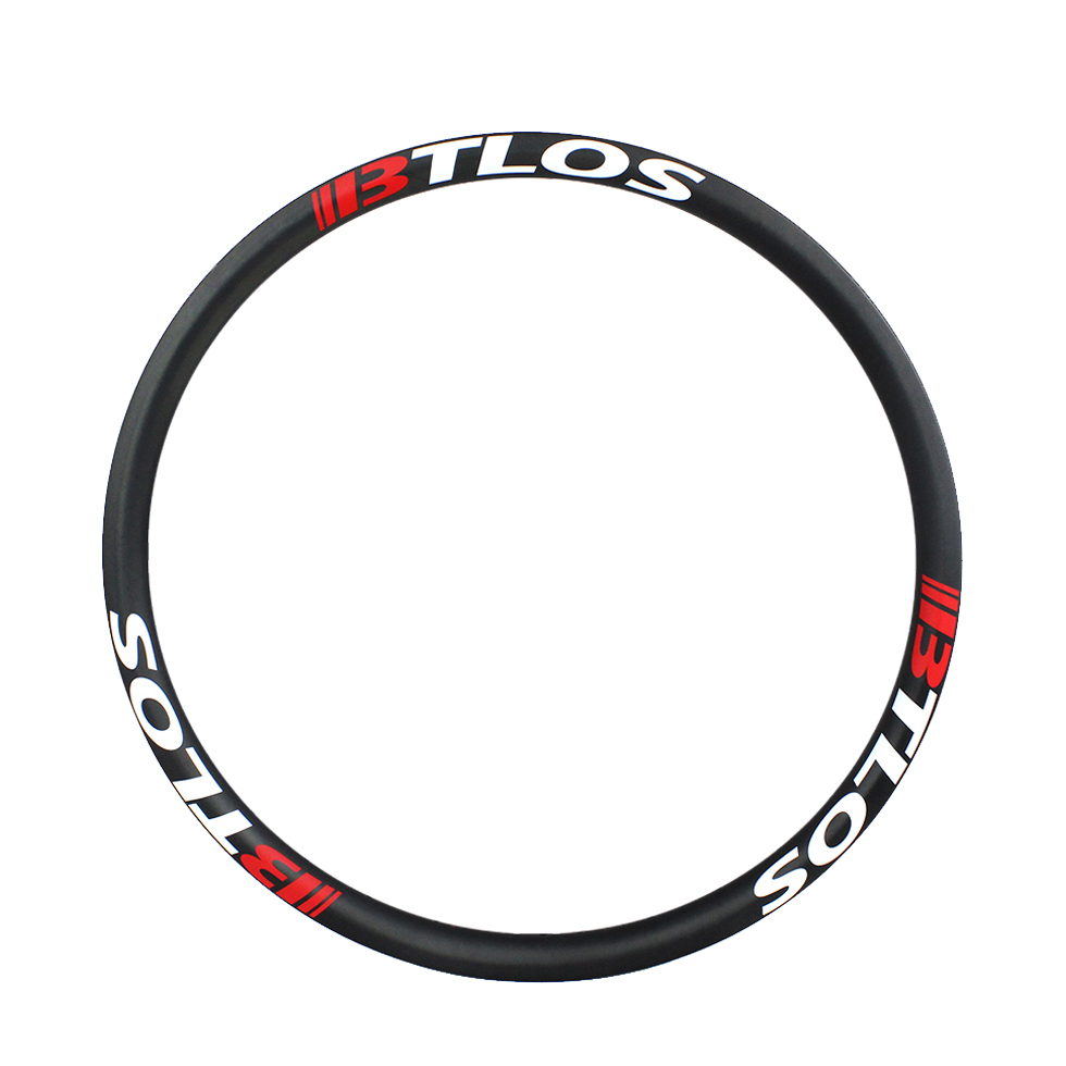 MTB 27.5inch/650B 40mm wide symmetrical hookless and tubeless compatible rim