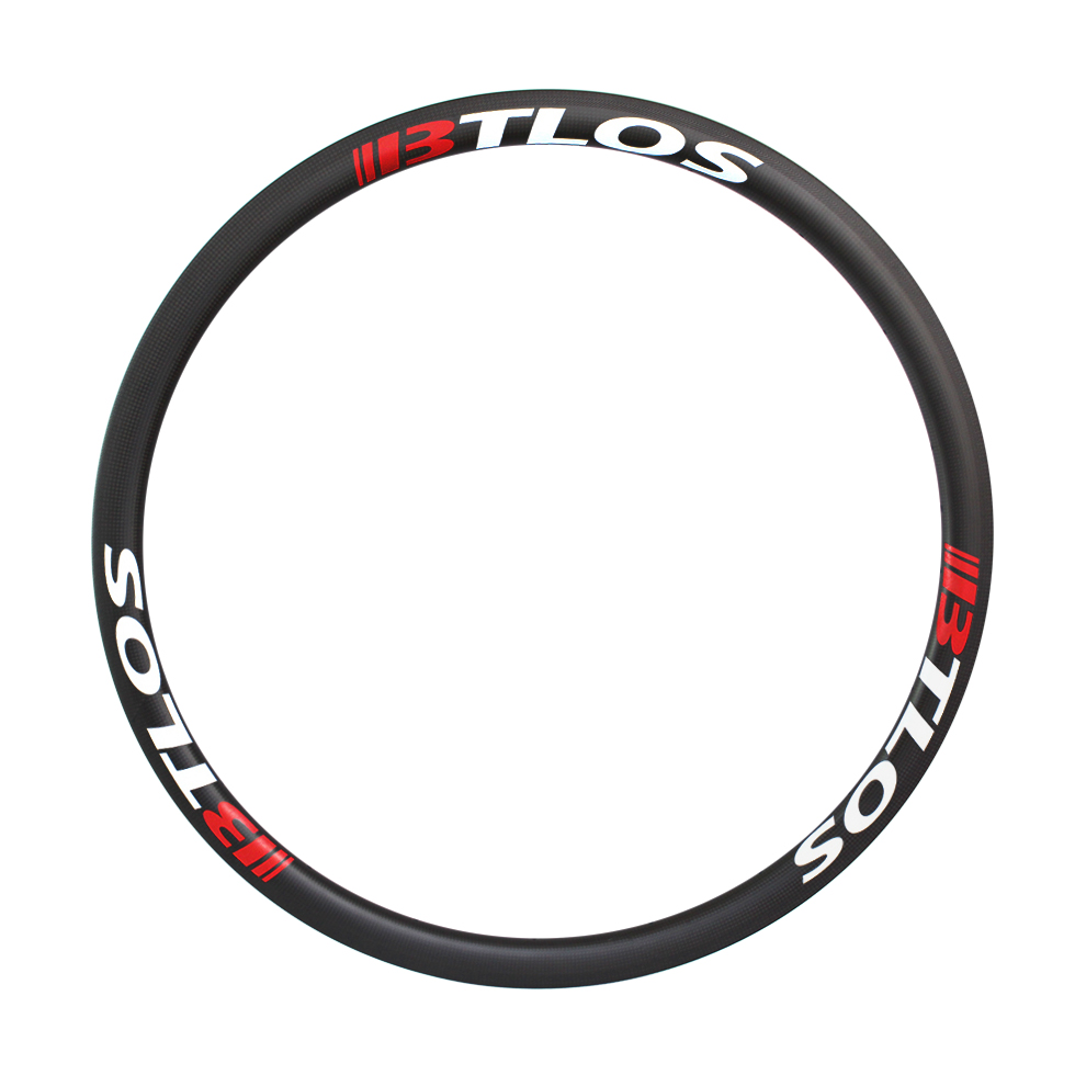 700C 35mm deep road bike tubular carbon rims