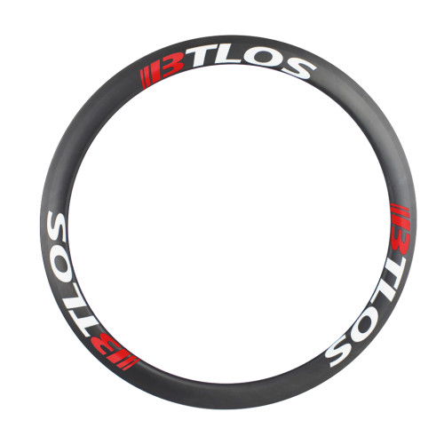700C 45mm deep clincher tubeless carbon fiber rims for cyclocross bike
