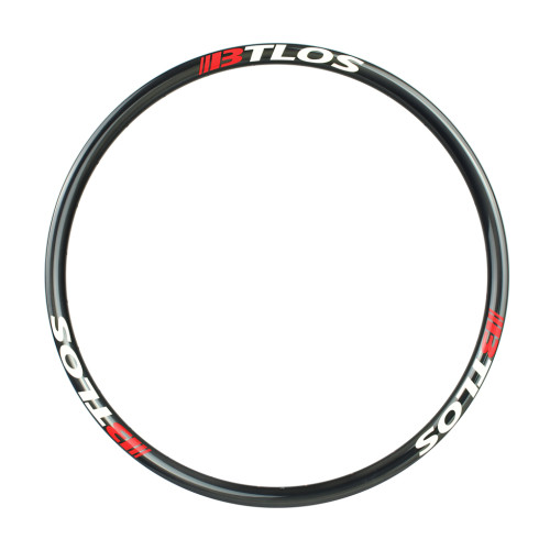 Asymmetric mountain bike XC trail carbon rim