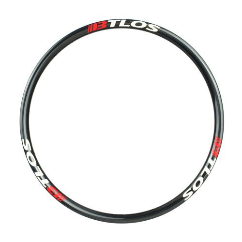Asymmetric mountain bike XC trail carbon rim