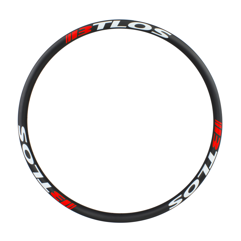 30mm width Asymmetric carbon XC Trail All mountain bicycle rims