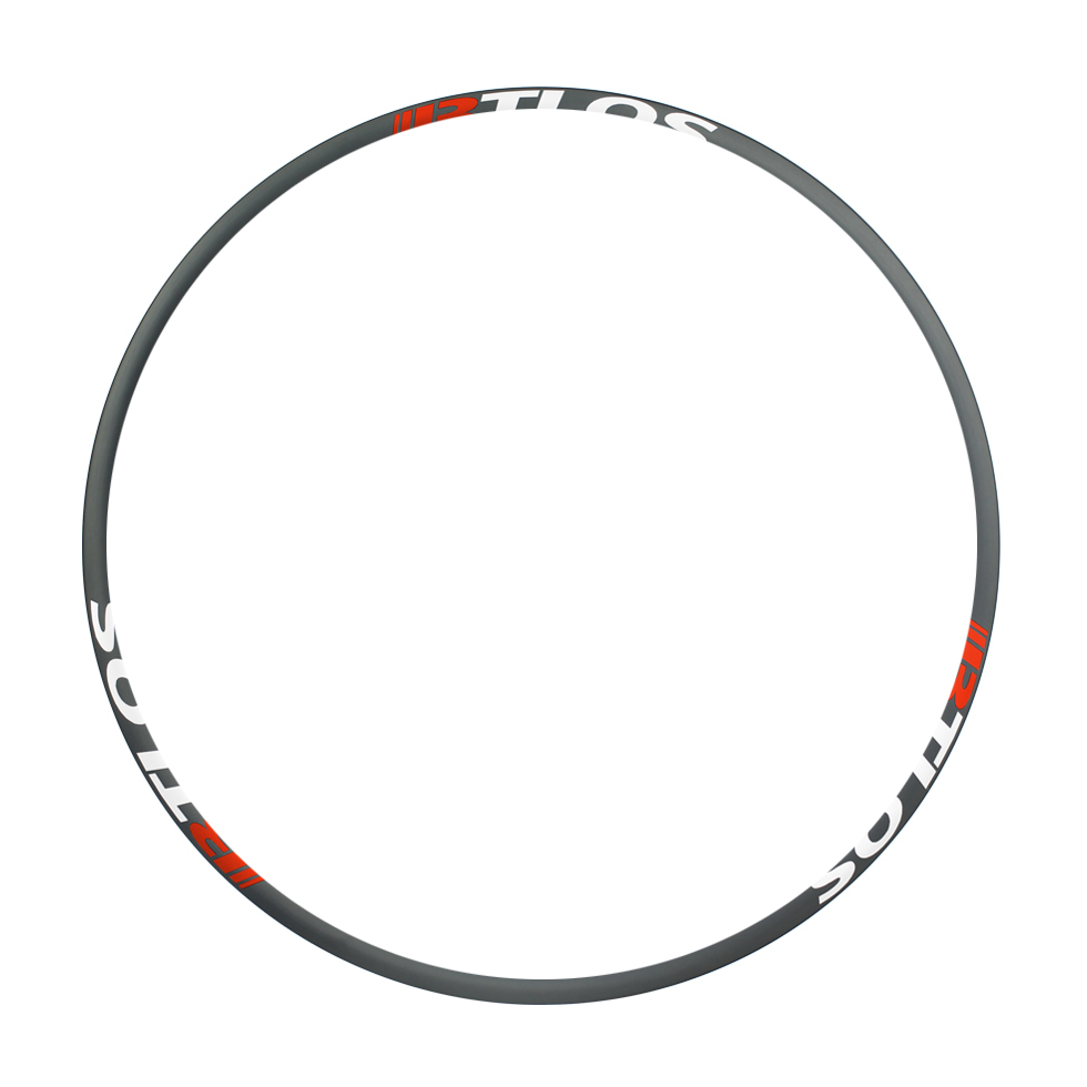 Coating free 27mm inner width XC shallow carbon rims