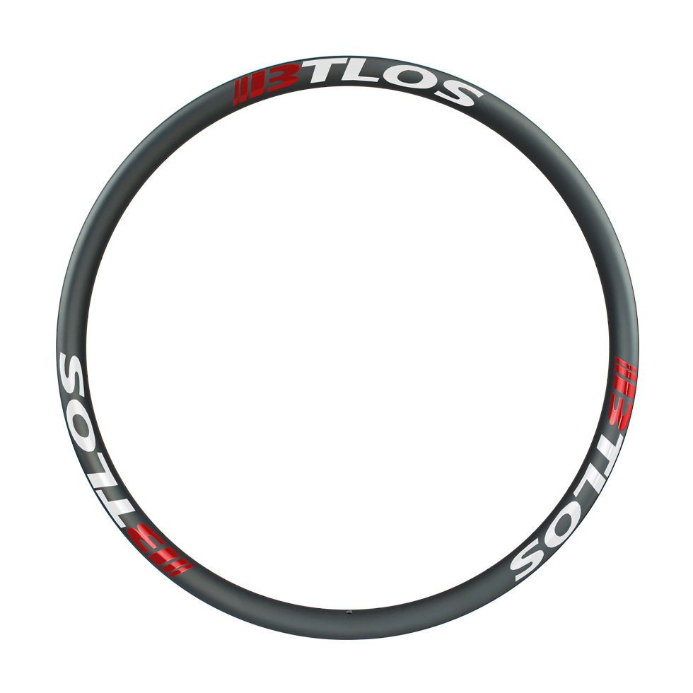 Asymmetric 30mm internal width carbon rim light Enduro rim
