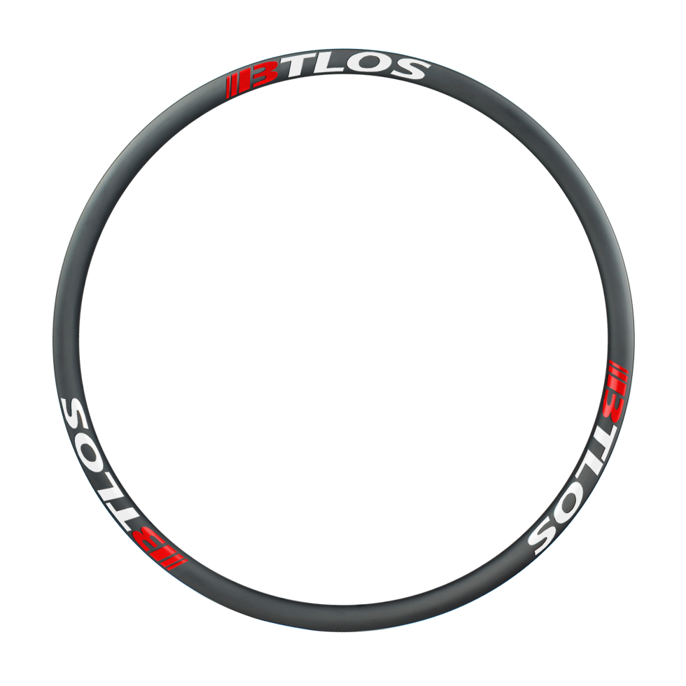 Asymmetric 34mm internal downhill carbon rims