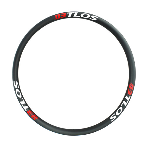 Asymmetric 39mm internal plus bike rims