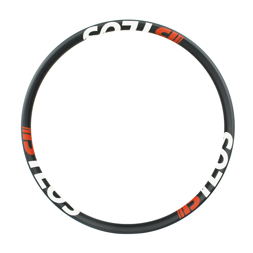 Light plus 50mm wide bike rims