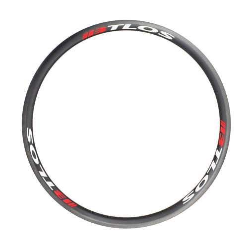 700c 30mm deep U shape clincher carbon rims road bike