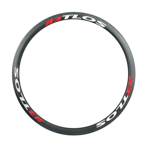 700C road bike 35mm deep clincher tubeless compatible carbon rims