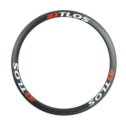 700c 40mm depth tubeless-compatible carbon clincher road bicycle rim