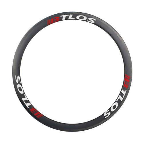 700c 40mm depth tubular road bike carbon wheels