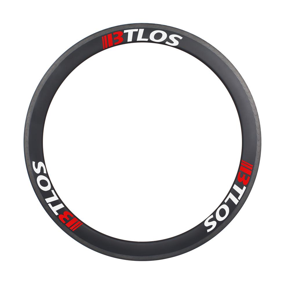 carbon tubular rims 700c 50mm depth for cyclocross road bike