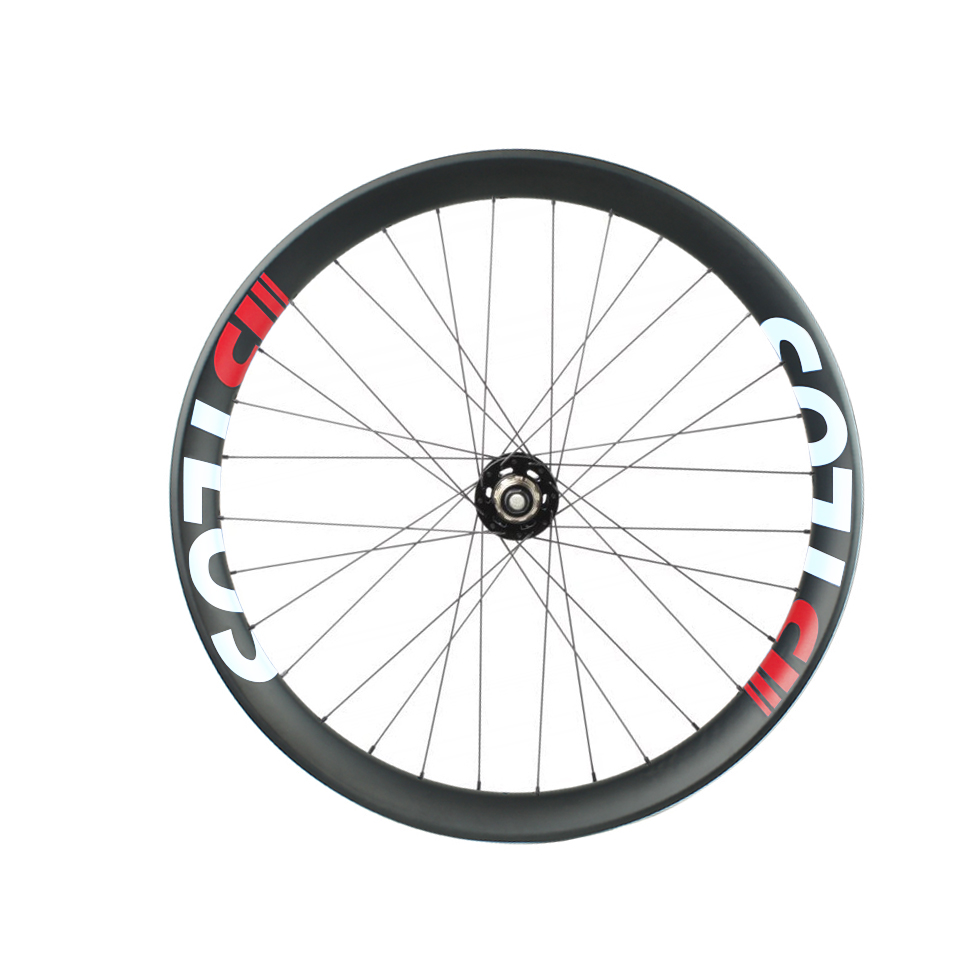 650B double wall fat bike  carbon wheels with 85 mm wide