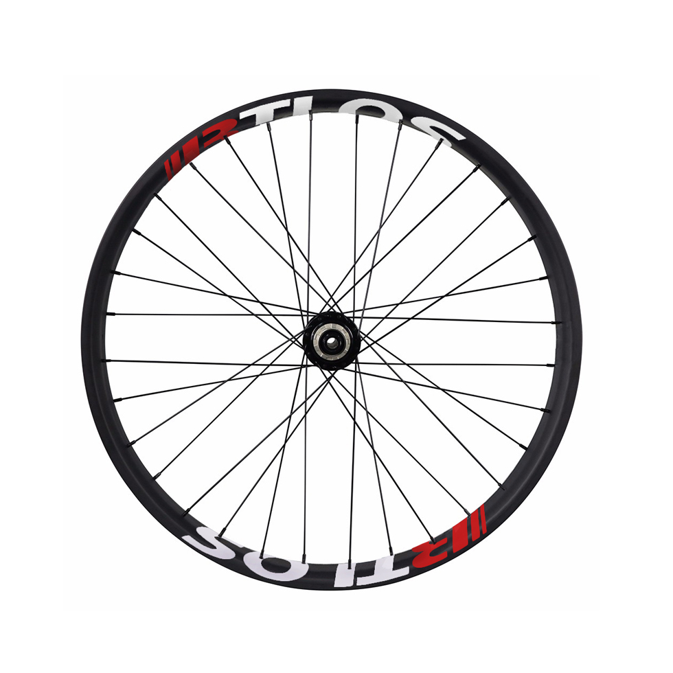 double wall fat bike carbon wheelset with 90 mm wide 26 inch