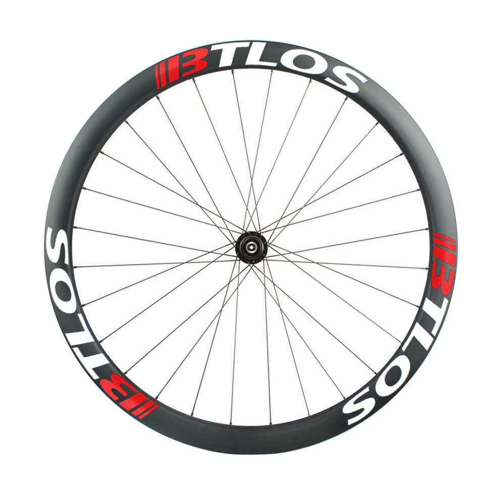 Asymmetric 45mm depth Gravel/CX Disc carbon wheelset