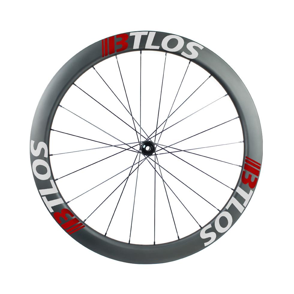 Asymmetric 50mm depth Gravel/CX Disc carbon wheels