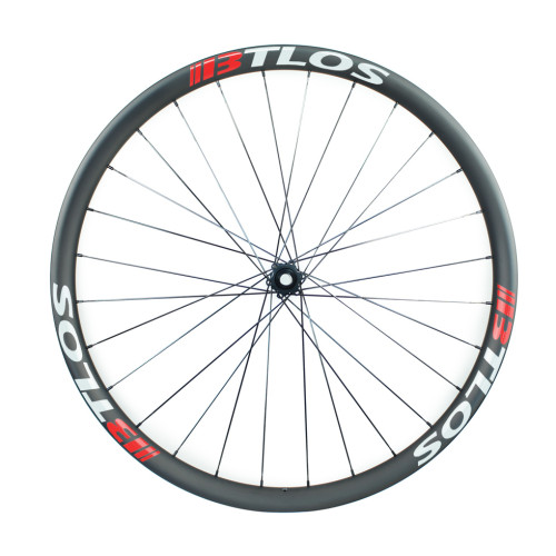 Asymmetric 30mm internal carbon light Enduro wheelset