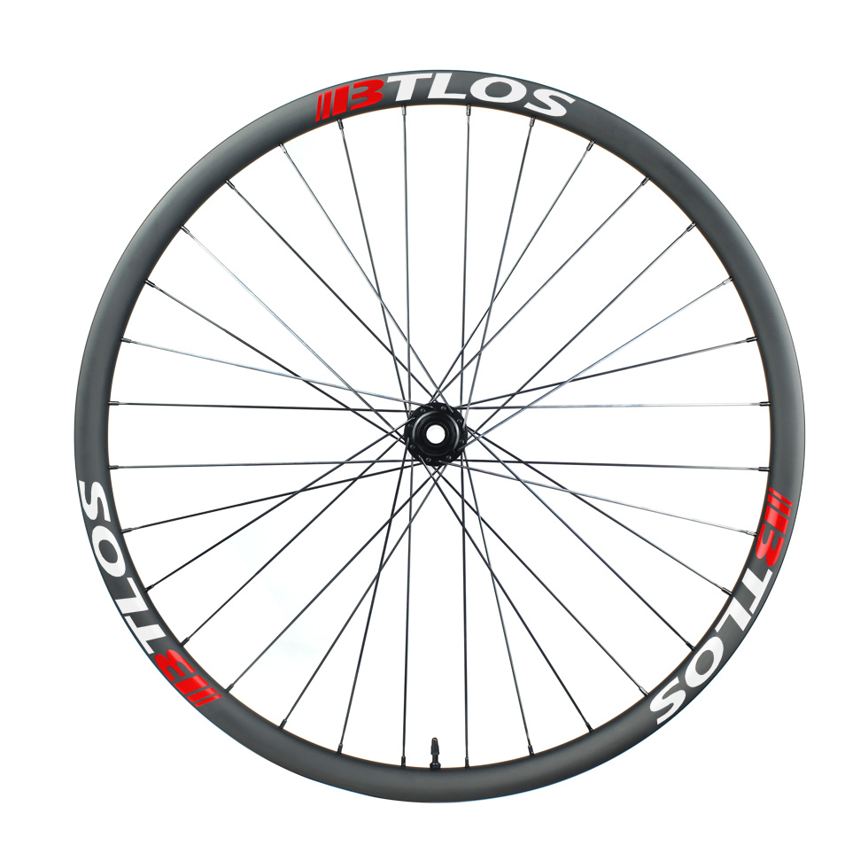 Asymmetric 34mm internal mountain bike downhill carbon wheelset