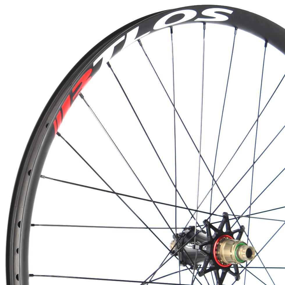 Hand Built Carbon Bike Wheels Asymmetric 29 Inch Mountain Bike 29er