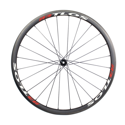 Hand-built 700C road clincher 30mm depth carbon road wheels