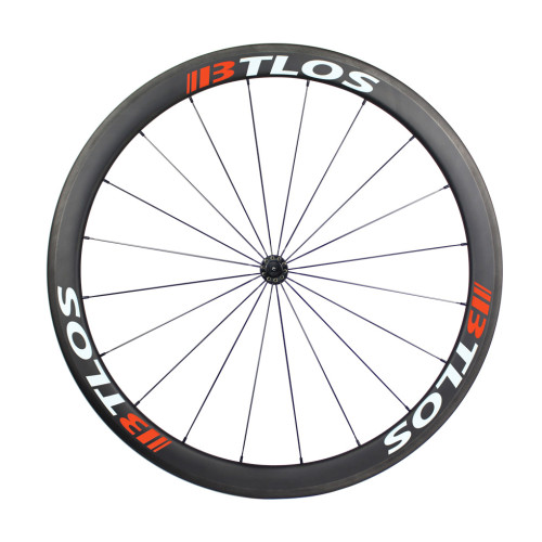 700C 45mm deep clincher carbon fiber wheels for cyclocross bike