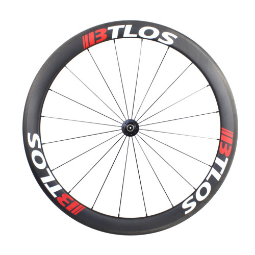 Hand-built 700C road clincher 50mm depth carbon wheelset