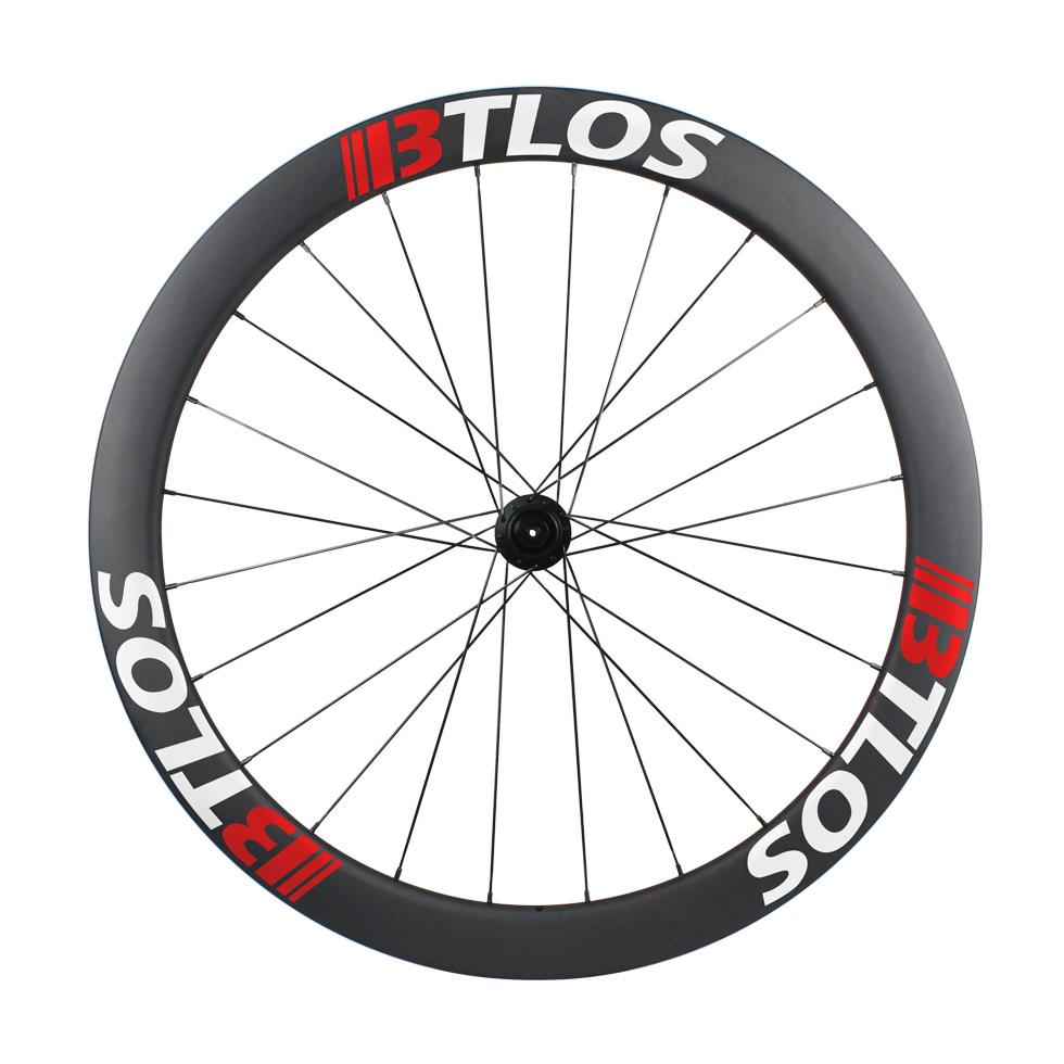 700c asymmetric 50mm deep aero clincher carbon road wheels
