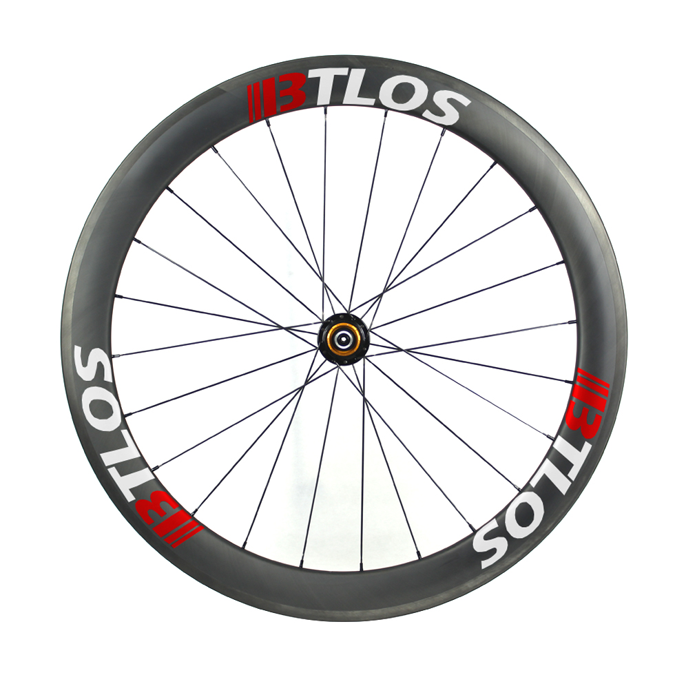 700C carbon road wheels 55mm deep clincher 26mm wide U shape tubeless compatible