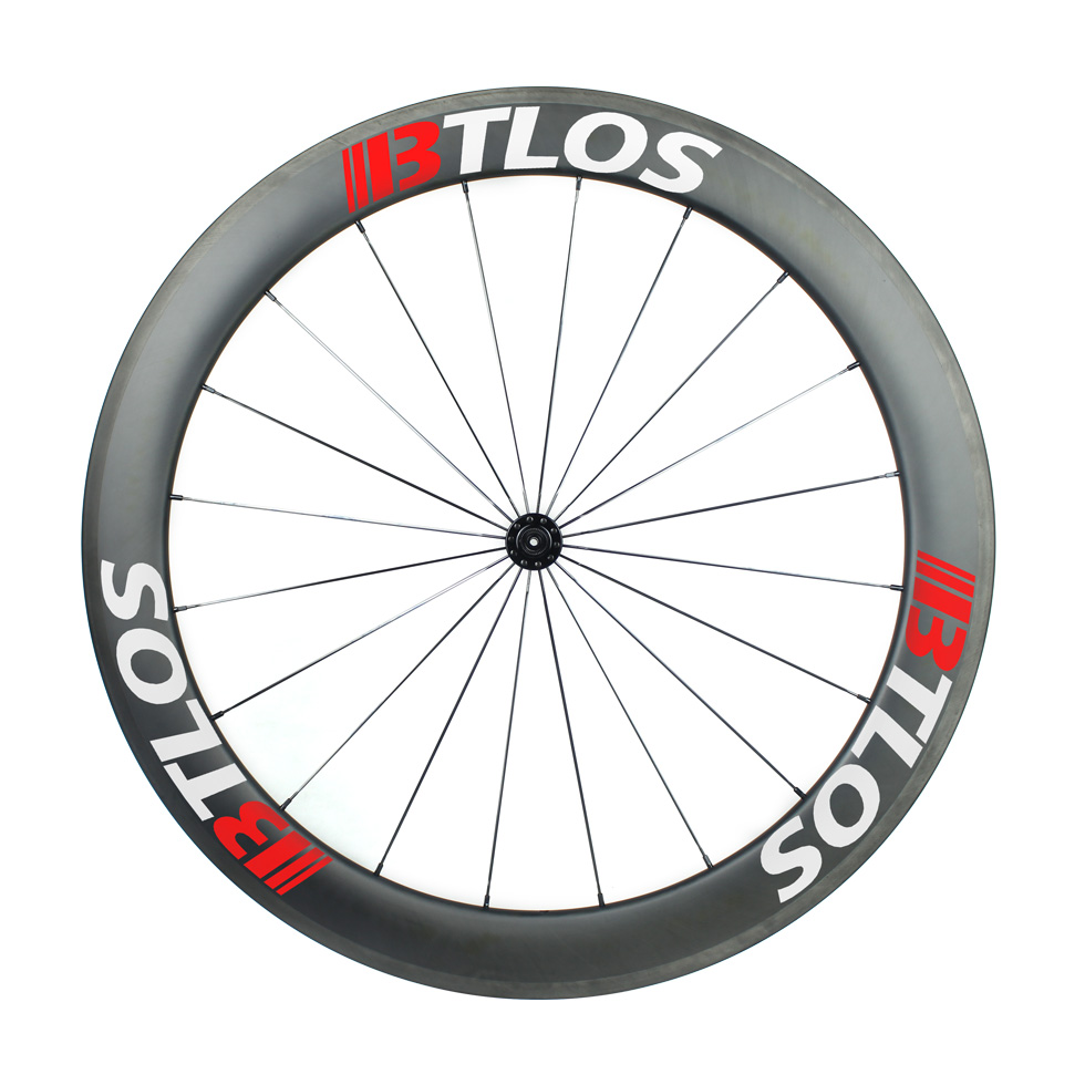 700c 60mm deep clincher tubeless-compatible carbon wheels
