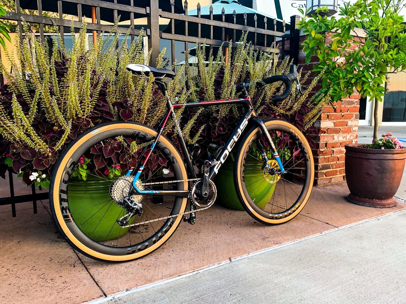 BTLOS gravel bike gravel carbon wheels