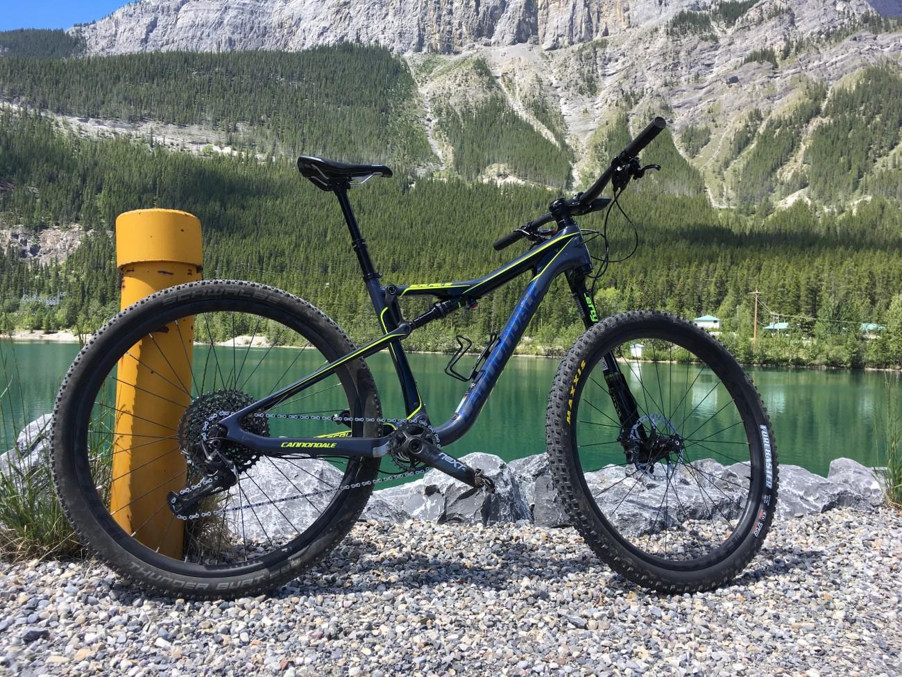 cannondale bike with BTLOS carbon rim