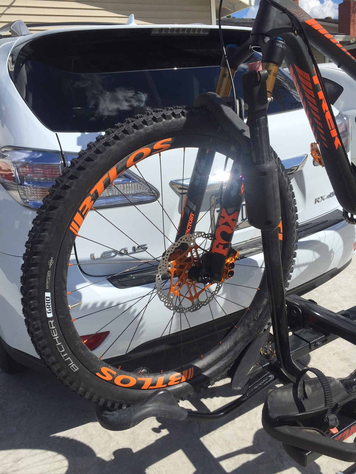 BTLOS rims with orange decal