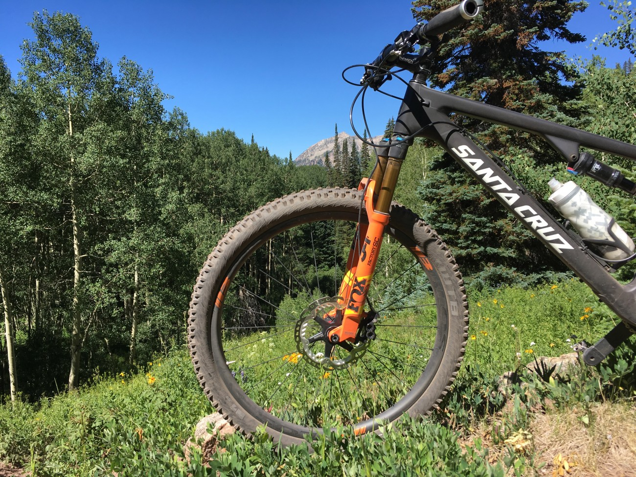 carbon bicycle fox fork
